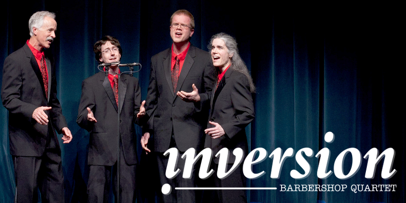 inversion barbershop quartet
